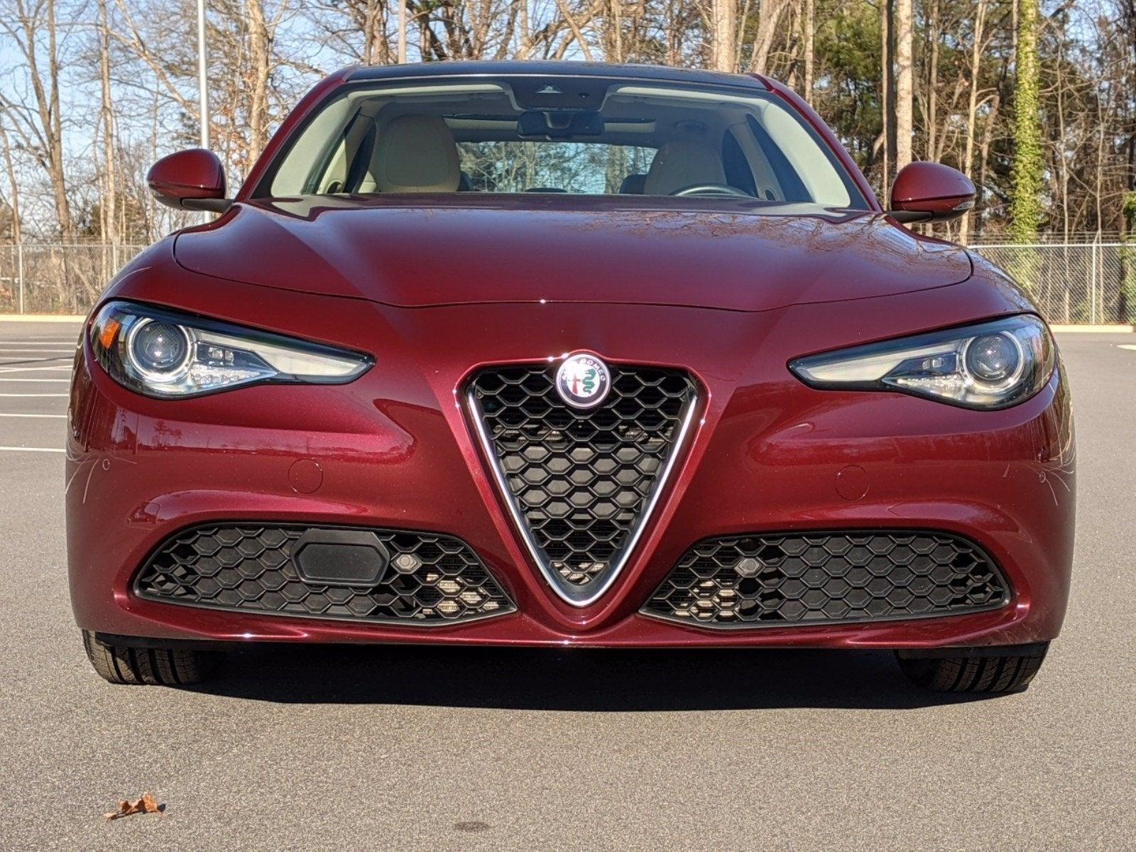 2019 Alfa Romeo Giulia Ti Lusso Rwd In Raleigh Nc Raleigh Alfa