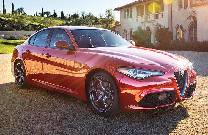 Alfa Romeo Giulia >> 2018 Alfa Romeo Giulia